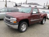 2000 Dark Carmine Red Metallic Chevrolet Silverado 1500 Z71 Regular Cab 4x4 #62036949
