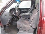 2000 Chevrolet Silverado 1500 Z71 Regular Cab 4x4 Graphite Interior