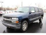 2000 Indigo Blue Metallic Chevrolet Silverado 1500 LS Extended Cab 4x4 #62036939