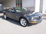 2007 Alloy Metallic Ford Mustang V6 Deluxe Convertible #62036921