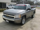 2007 Graystone Metallic Chevrolet Silverado 1500 LT Regular Cab #62036585