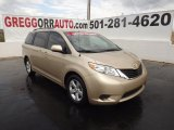2011 Sandy Beach Metallic Toyota Sienna LE #62036534