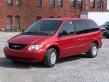 2003 Inferno Red Pearl Chrysler Town & Country LX #6196141