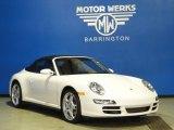 2008 Carrara White Porsche 911 Carrera 4 Cabriolet #62036116