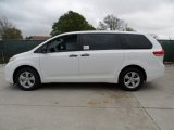 2012 Toyota Sienna Standard Model Data, Info and Specs
