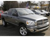 2008 Mineral Gray Metallic Dodge Ram 1500 Big Horn Edition Quad Cab 4x4 #6183146