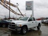 2004 Bright White Dodge Ram 1500 ST Quad Cab 4x4 #62036451