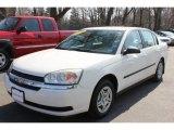 2005 White Chevrolet Malibu Sedan #62036774