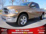 2012 Saddle Brown Pearl Dodge Ram 1500 Big Horn Quad Cab #62036367