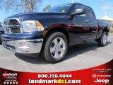 2012 True Blue Pearl Dodge Ram 1500 Big Horn Quad Cab #62036361