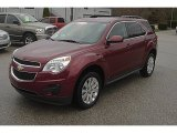 2010 Cardinal Red Metallic Chevrolet Equinox LT AWD #62036665
