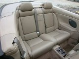 1999 Volvo C70 LT Convertible Rear Seat