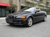 2002 Orient Blue Metallic BMW 3 Series 330i Convertible #62098473