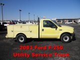 2003 Ford F250 Super Duty XL Regular Cab Utility Data, Info and Specs