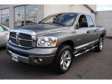 2008 Mineral Gray Metallic Dodge Ram 1500 Laramie Quad Cab 4x4 #62097744