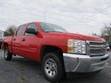 2012 Victory Red Chevrolet Silverado 1500 LT Crew Cab #62098020