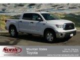 2012 Super White Toyota Tundra SR5 TRD CrewMax 4x4 #62097571