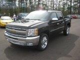 2012 Black Chevrolet Silverado 1500 LT Crew Cab #62098241
