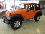 2012 Crush Orange Jeep Wrangler Sport S 4x4 #62098221