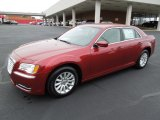 2012 Deep Cherry Red Crystal Pearl Chrysler 300  #62098219