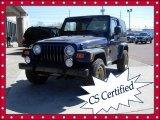 2006 Midnight Blue Pearl Jeep Wrangler Sport 4x4 Golden Eagle #62097930