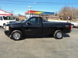 2011 Black Chevrolet Silverado 1500 LS Regular Cab 4x4 #62098217