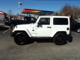2012 Bright White Jeep Wrangler Sahara Arctic Edition 4x4 #62098216
