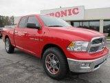 2012 Flame Red Dodge Ram 1500 Big Horn Quad Cab #62097924