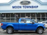 2012 Blue Flame Metallic Ford F150 XLT SuperCab 4x4 #62097913