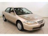 2002 Naples Gold Metallic Honda Accord LX Sedan #62098202
