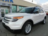 2013 White Platinum Tri-Coat Ford Explorer XLT 4WD #62097902