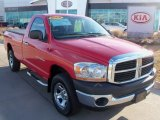 2006 Flame Red Dodge Ram 1500 ST Regular Cab 4x4 #62159257
