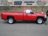 2012 Victory Red Chevrolet Silverado 1500 Work Truck Regular Cab #62159092