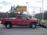 2003 Victory Red Chevrolet Silverado 2500HD LT Extended Cab 4x4 #62159408