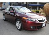 2010 Basque Red Pearl Acura TSX Sedan #62159074