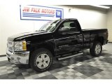 2012 Black Chevrolet Silverado 1500 LT Regular Cab 4x4 #62159374