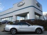 2011 Ingot Silver Metallic Ford Mustang V6 Premium Convertible #62159045