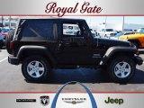 2012 Black Jeep Wrangler Sport S 4x4 #62159363