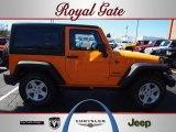 2012 Dozer Yellow Jeep Wrangler Sport S 4x4 #62159362