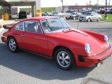 1974 Porsche 911 Coupe Front 3/4 View