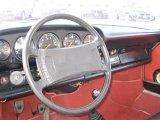 1974 Porsche 911 Coupe Dashboard