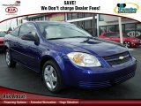 2007 Laser Blue Metallic Chevrolet Cobalt LS Coupe #62159349