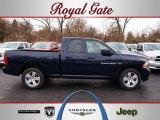 2012 True Blue Pearl Dodge Ram 1500 Express Quad Cab #62159027