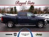 2012 True Blue Pearl Dodge Ram 1500 Big Horn Crew Cab 4x4 #62159023