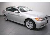 2008 Titanium Silver Metallic BMW 3 Series 335xi Sedan #62159204