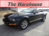 2005 Black Ford Mustang V6 Premium Convertible #62159008