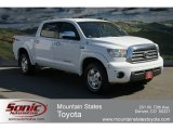 2008 Super White Toyota Tundra Limited CrewMax 4x4 #62158968