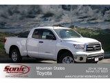 2012 Super White Toyota Tundra Double Cab 4x4 #62158963