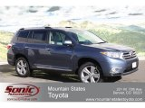 2012 Shoreline Blue Pearl Toyota Highlander Limited 4WD #62158959