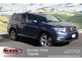 2012 Shoreline Blue Pearl Toyota Highlander Limited 4WD #62158958